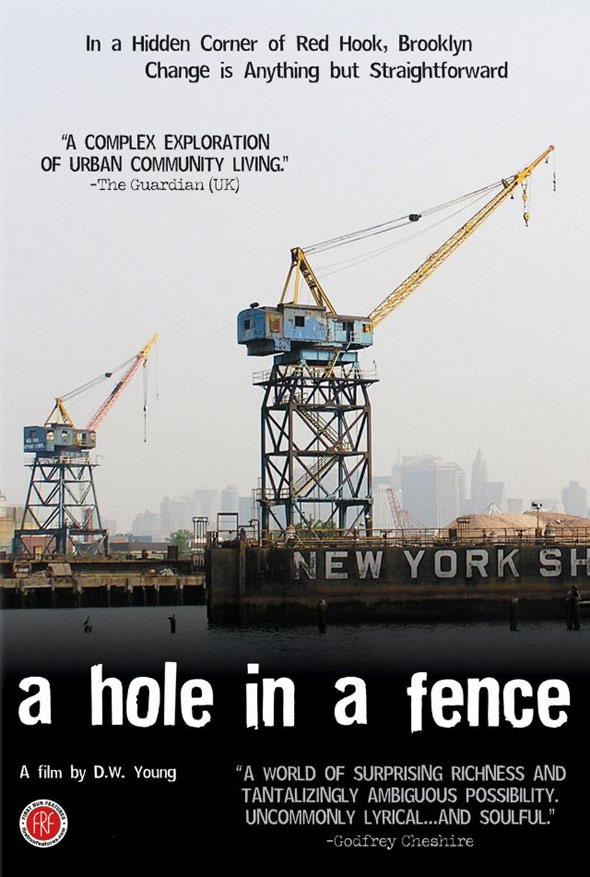 A Hole in a Fence Poster