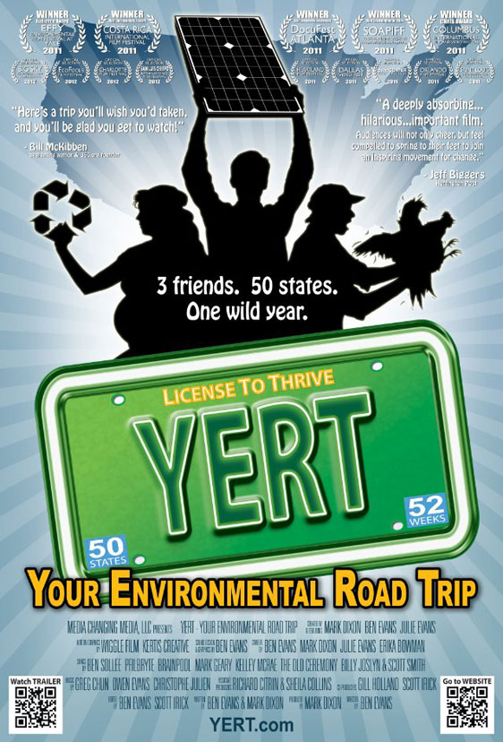 YERT - Your Environmental Road Trip Poster