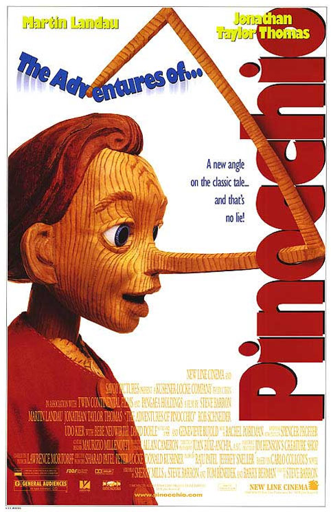 The New Adventures of Pinocchio Poster
