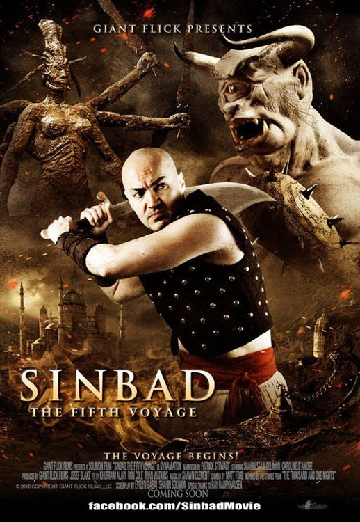 Sinbad The Fifth Voyage Poster