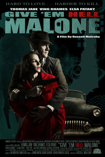 Filme Poster Give Em Hell Malone DVDRip Rmvb Legendado