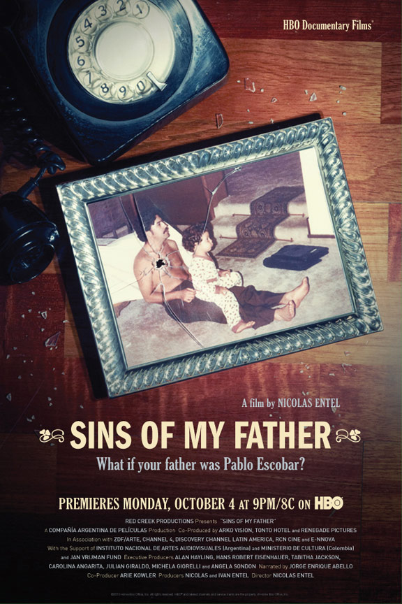 Sins of My Father (Pecados de mi padre) Poster