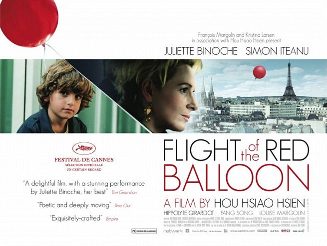 The Flight of the Red Balloon Poster