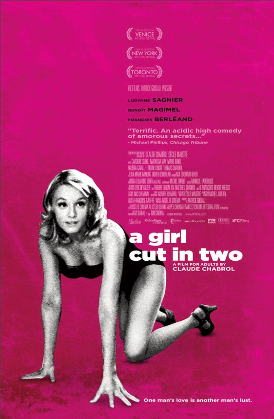 A Girl Cut in Two (La Fille coupée en deux) Poster