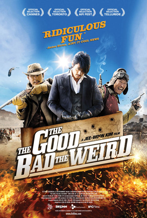 The Good, the Bad, and the Weird Poster