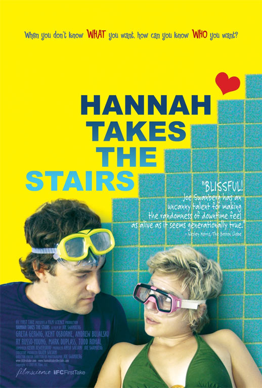 Hannah Takes the Stairs Poster