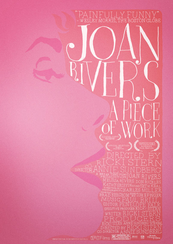 Joan Rivers - A Piece Of Work Poster
