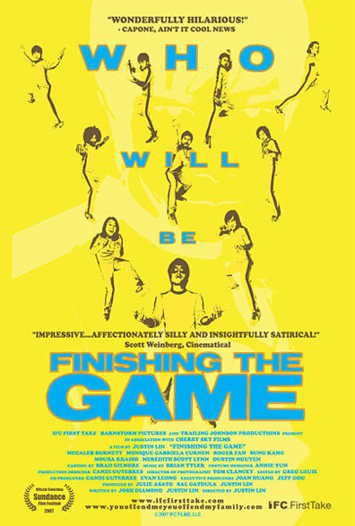 Finishing the Game Poster