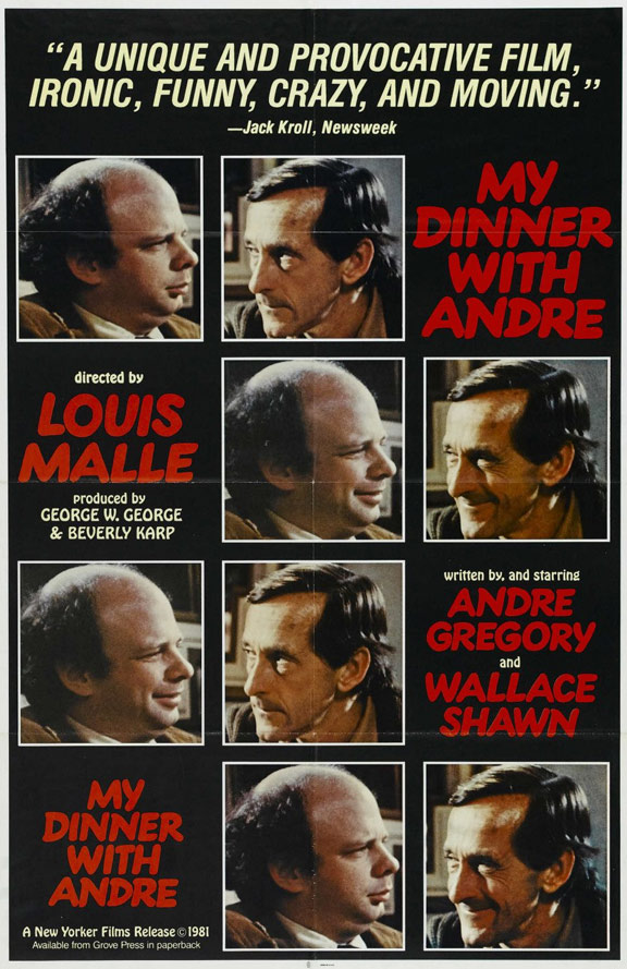 My Dinner with Andre Poster