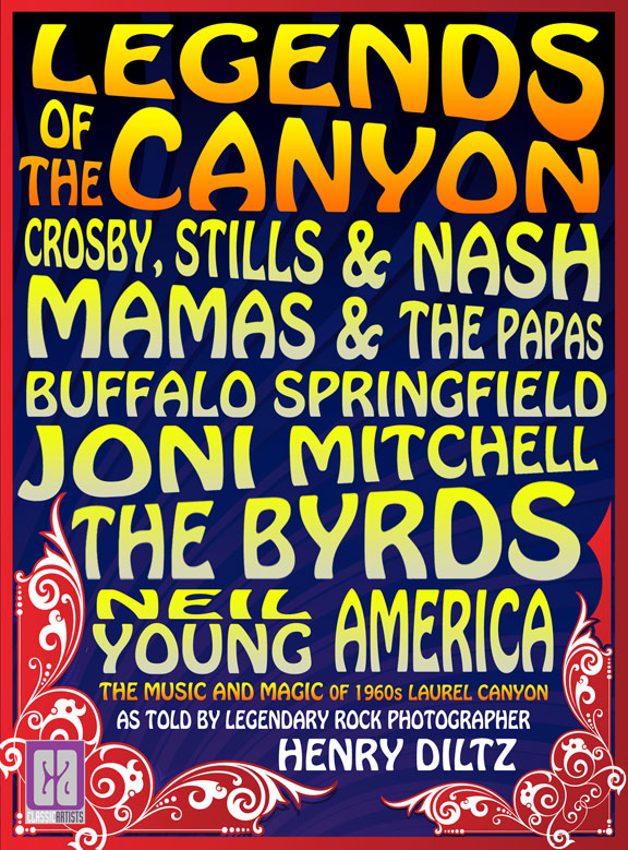 Legends of the Canyon Poster