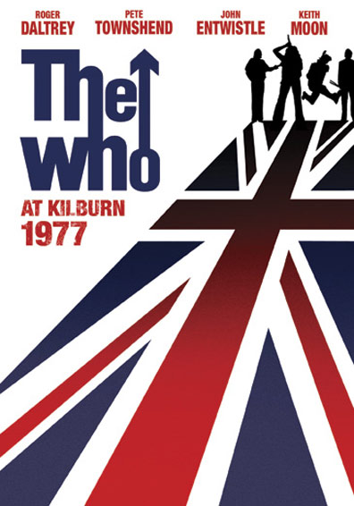 The Who: At Kilburn 1977 Poster