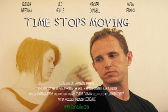Time Stops Moving Poster