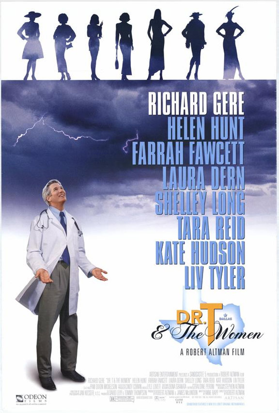 Dr T and the Women Poster
