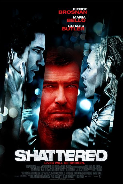 Shattered (Butterfly on a Wheel) Poster