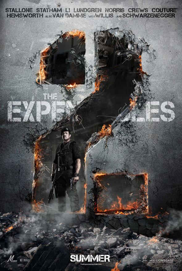The Expendables 2 Poster
