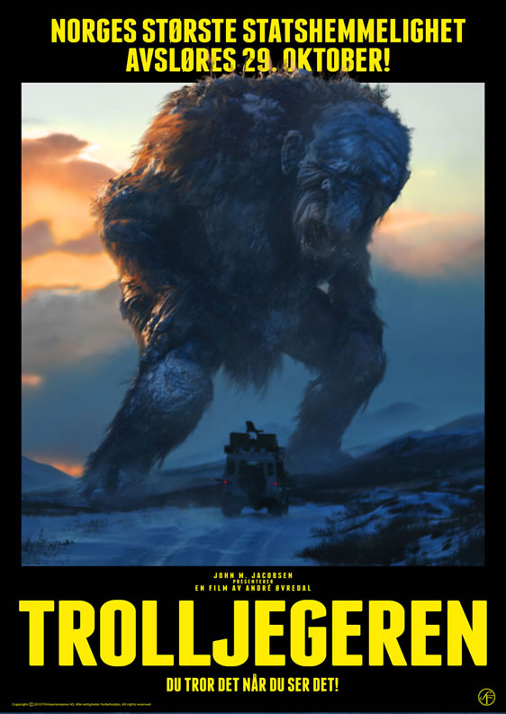 The Troll Hunter Poster