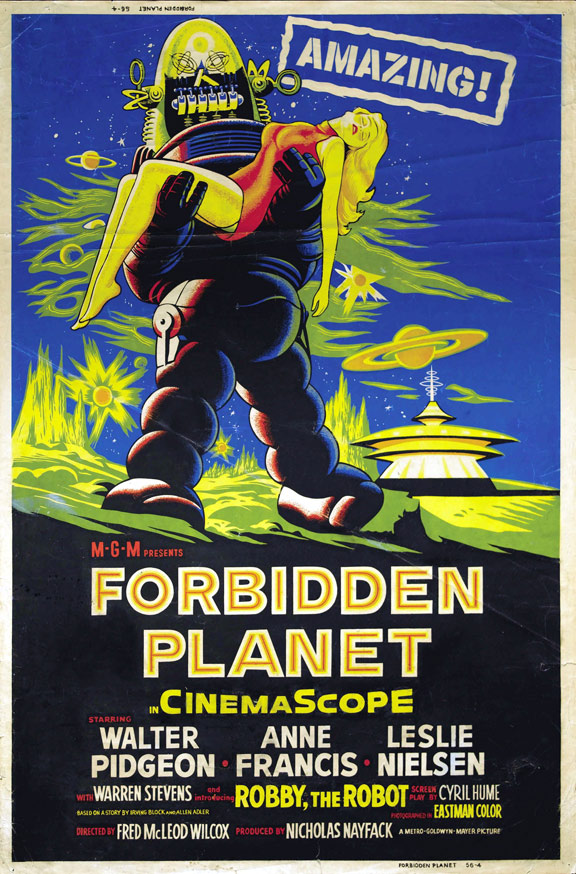 Forbidden Planet Poster