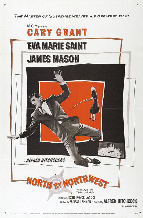 North By Northwest Poster