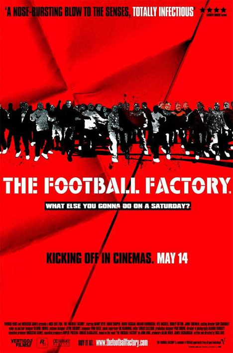 The Football Factory Poster