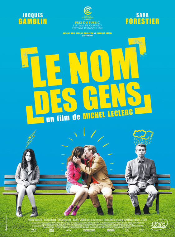 The Names of Love (Le nom des gens) Poster