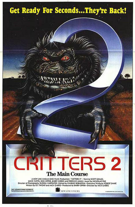 Critters 2: The Main Course Poster