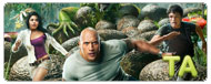 Journey 2: The Mysterious Island: Junket Interview - Dwayne Johnson