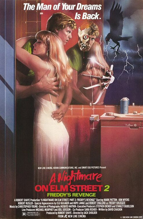 A Nightmare On Elm Street 2: Freddy's Revenge Poster