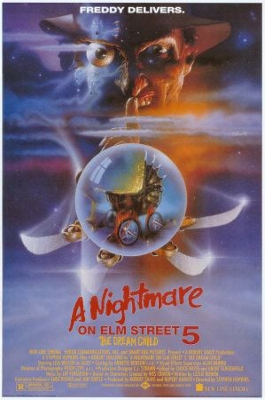 A Nightmare On Elm Street 5: The Dream Child Poster