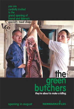The Green Butchers Poster
