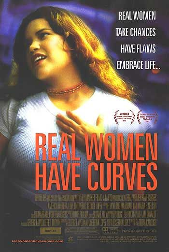 Real Women Have Curves Poster