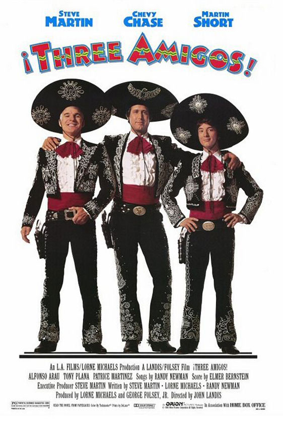 Three Amigos! Poster