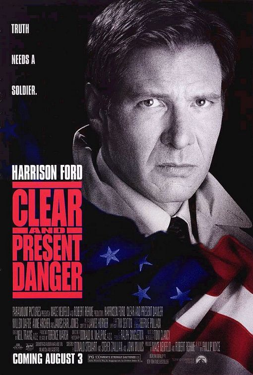 Clear and Present Danger Poster