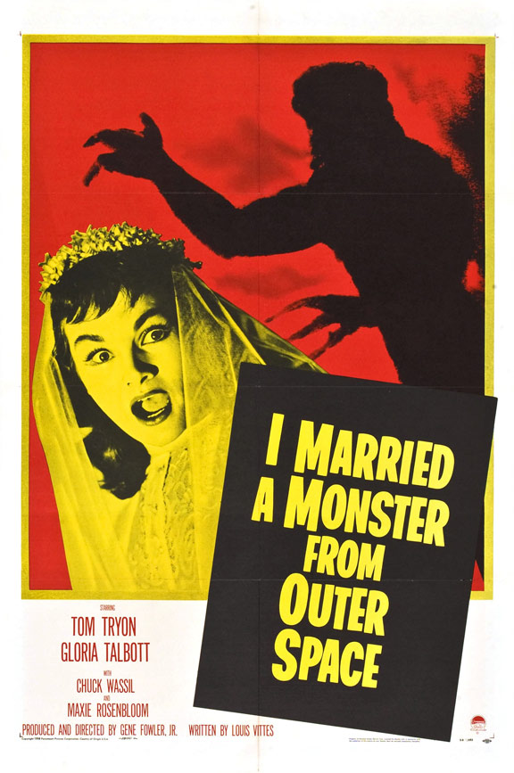I Married a Monster from Outer Space Poster
