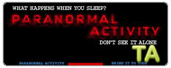 Paranormal Activity: TV Spot - Experience It