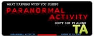 Paranormal Activity: Trailer B