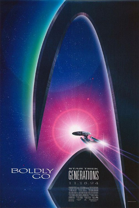 Star Trek: Generations Poster