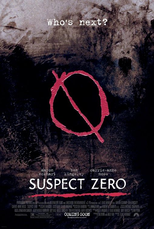 Suspect Zero Poster - Trailer Addict