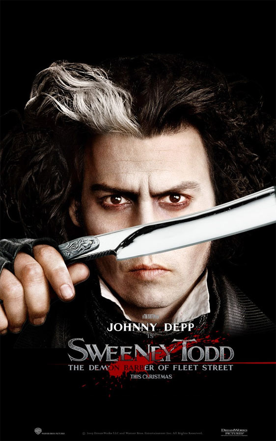 Sweeney Todd Poster. Sweeney Todd: The Demon Barber