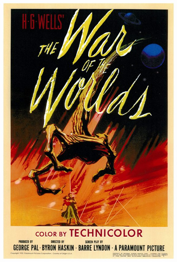war of the worlds poster. The War of the Worlds Poster