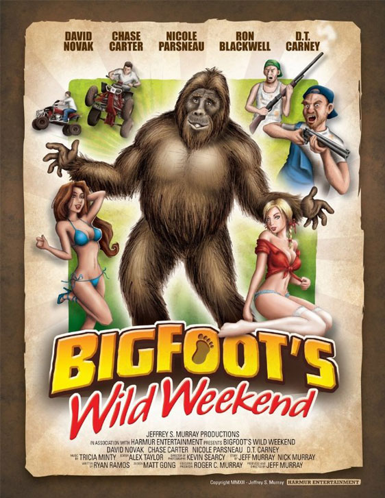 Bigfoot's Wild Weekend Poster