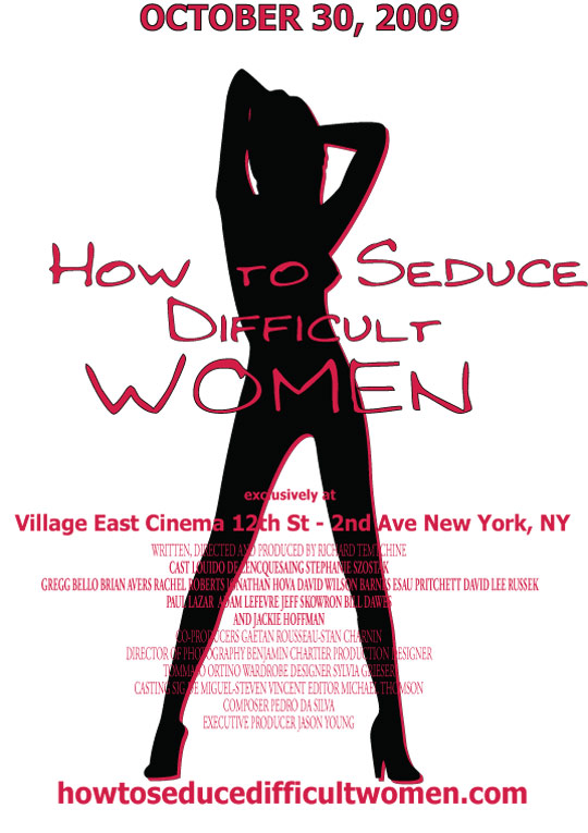 How to Seduce Difficult Women Poster