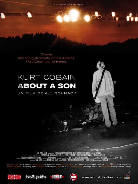Kurt Cobain About a Son Poster
