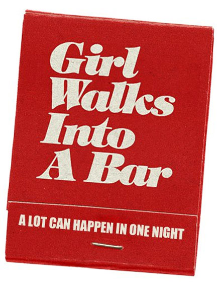 Girl Walks Into a Bar Poster