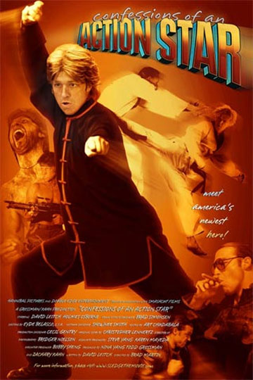 Confessions of an Action Star Poster