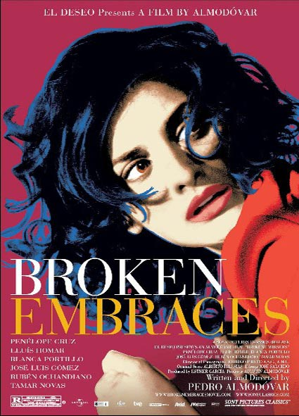 Broken Embraces (Los Abrazos Rotos) Poster