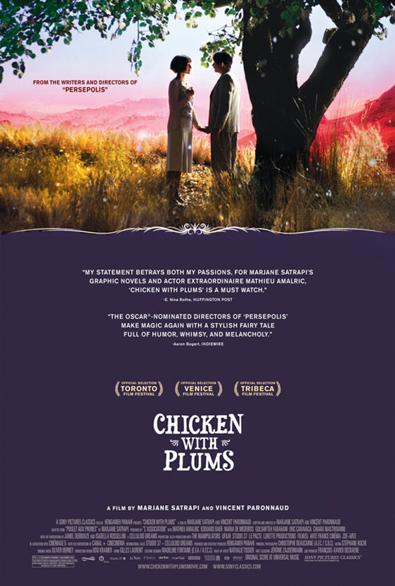 Chicken with Plums (Poulet aux prunes) Poster