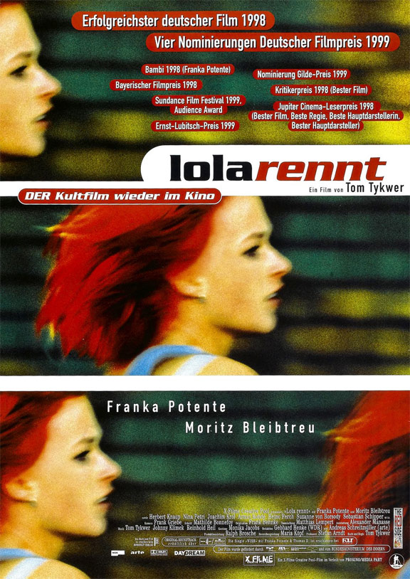 run lola run analysis As the film 'run lola run' has a multiform narrative structure, it is separated into three sections in which lola is able to repeat her journey from the.