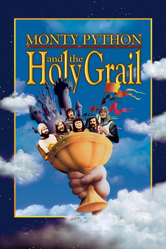 Monty Python and the Holy Grail Poster