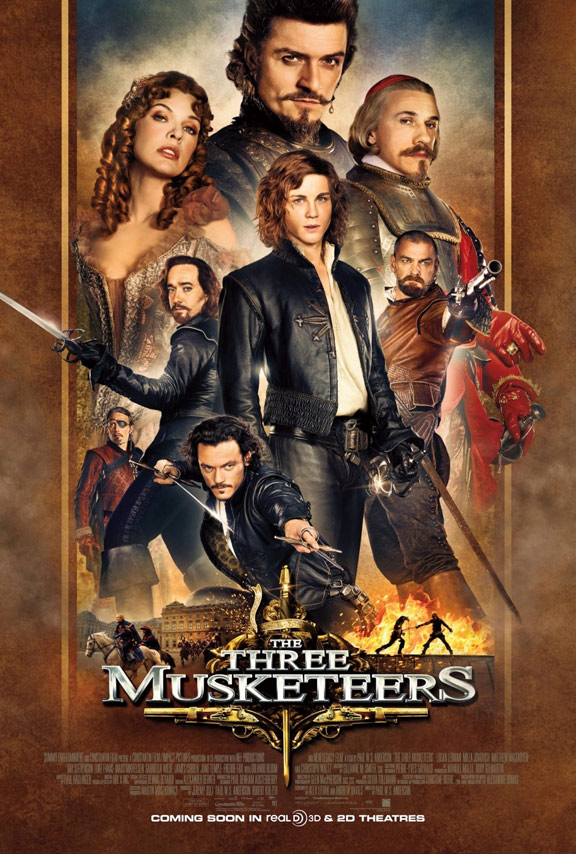 three musketeers3d
