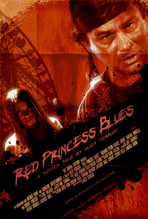 Red Princess Blues Poster